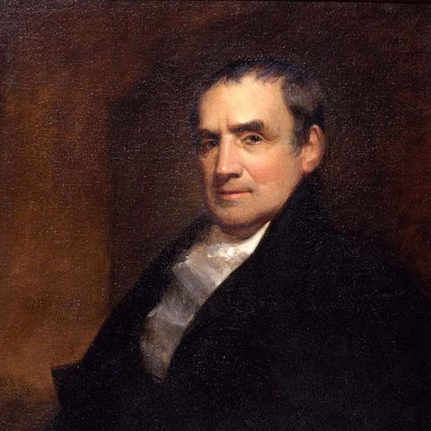 Painting of Mathew Carey by John Neagle